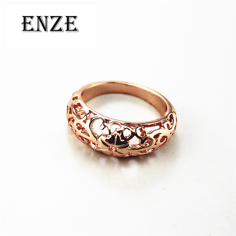 Free fashion fashion ladies jewelry Europe and the United States retro crafts hollow pattern ring ring personality for women