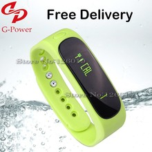Smart Bracelet E02 waterproof Bluetooth 4.0 Health Wristband Smart Wristband for Android IOS