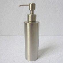 1 unid 304 de Acero Inoxidable Dispensador de Jabón Líquido Desinfectante para las manos Botella de Baño Encimera De La Cocina Accesorios de Baño 1488
