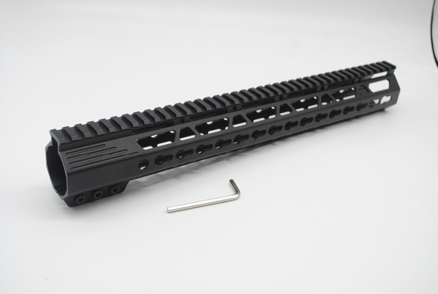 Trirock New Style Black 15 Inch Length Lr 308 Dmps 308 Free Float