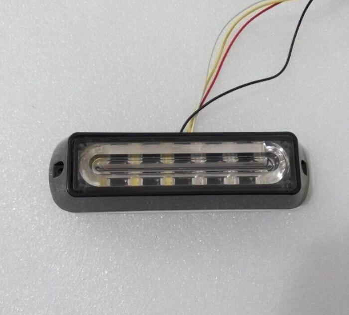 Higher star 6W LED surface external Lightheads,Car Grill warning lighs,Emergency lights,18 flash pattern,waterproof