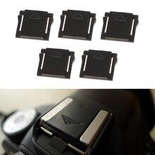5 adet flaş sıcak ayakkabı koruma kapağı kapağı Canon Nikon Olympus Panasonic Pentax DSLR SLR kamera aksesuarları