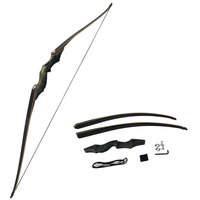 60Inch Archery American Hunting Recurve Bow Takedown Bow Draw Weight 30 60lbs Right Hand Composite Bow