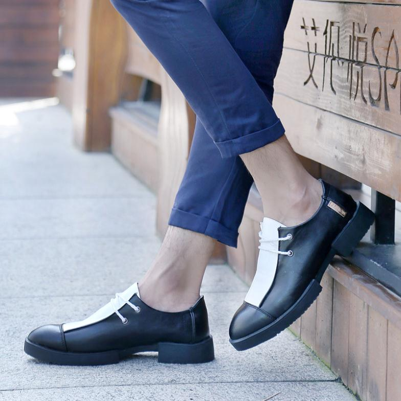 mocassin for men promotion top fasion creepers sapatos 2015 shark british  yuppie cowhide and boots shoes patent leather limited-in Women s Flats from  Shoes ... 6cb581ec622d