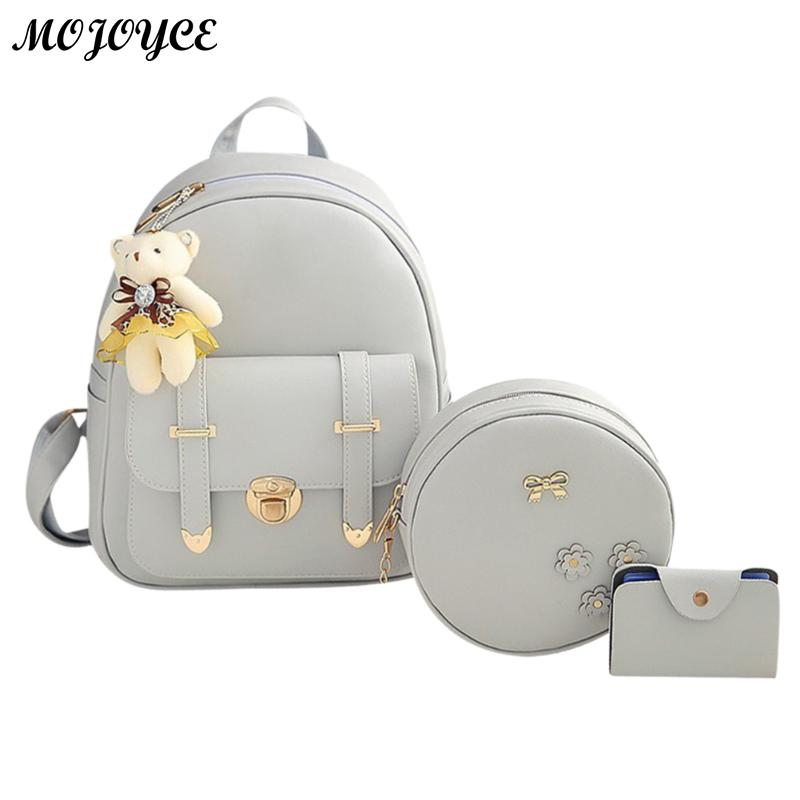 3pcs/Set 2018 Hot Cool Backpack Double Arrow Women Backpack Quality Fashion Girls School Bag School Bag Mujer New Designed Brand3pcs/Set 2018 Hot Cool Backpack Double Arrow Women Backpack Quality Fashion Girls School Bag School Bag Mujer New Designed Brand