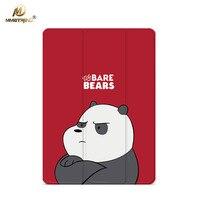 Mimiatrend Angry Bear PU Case For IPad Pro 9 7 Air Air2 Mini 1 2 3