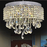 Novelty Item LED Chandeliers Modern LED Crystal Light Suspension Lamp For Dinning Room Bedroom Lighting Fixtures