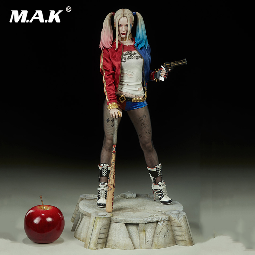 48cm 19 inches Suicide Squad Harley Quinn Full set Box Figure Collection Figure toy for collection