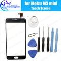 Meizu M3 mini Touch Screen Digitizer 100% Guarantee Original Digitizer Glass Panel Touch Replacement For Meizu M3 mini + Tools