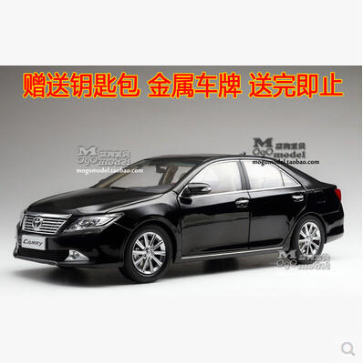 Hot sale CAMRY 2012 Toyota 1:18 Original simulation alloy car model Seventh Generation Japan Collection gift boy kids toy 2015 new ford taurus 1 18 original alloy car models changan ford kids toy beautiful box gift boy limit collection silver