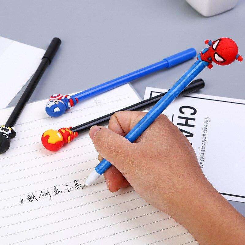 Image 4 - 40 шт. креативная нейтральная ручка с героями мультфильмов, Студенческая подарочная ручка в форме летучей мыши, оптовая продажа-in Гелевые ручки from Офисные и школьные принадлежности