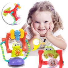 Baby Toys Wheel Rattles Baby Stroller Toys Toddler Toys Education Toy Kids-m35(China)