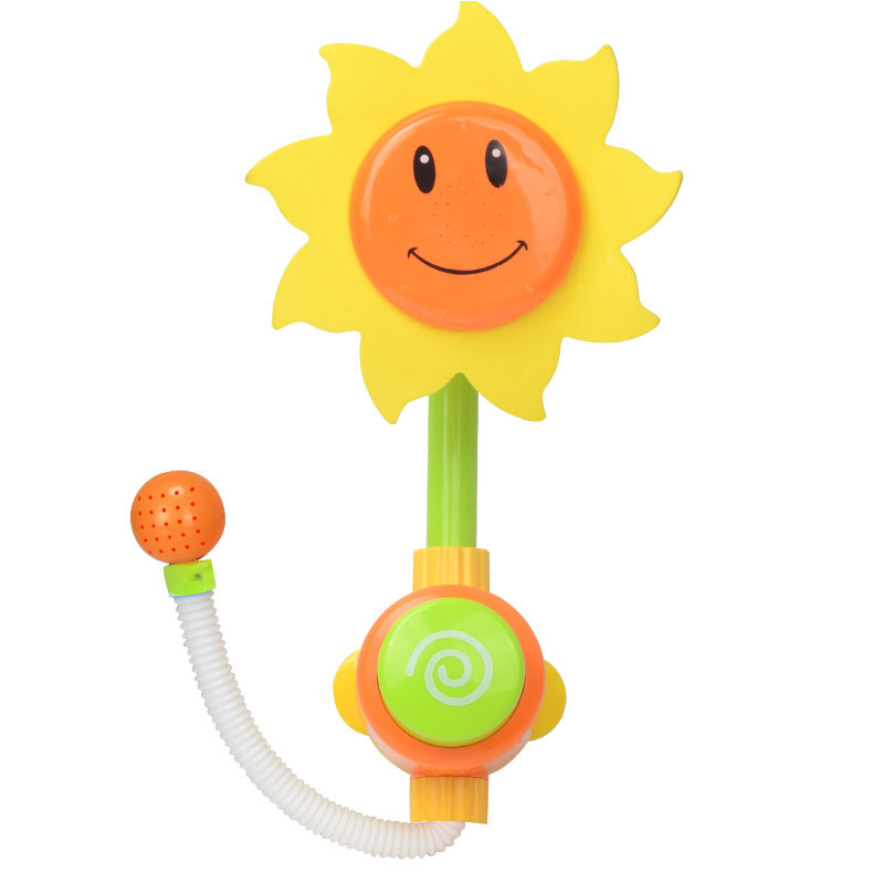 """""""40*20 Cm Baby Lustige Wasser Bad Spielzeug Badewanne Sonnenblumen Dusche Wasserhahn Spray Wasser Schwimmen Bad Bad Spielzeug Für Kinder Geschenke Verkaufspreis"""