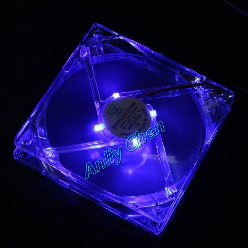 5Pieces LOT120x120x25mm 12025 GDT PC Blue Case Cooler 12V 4Pin LED DC Fan 5 pieces lot ixfk150n30p3
