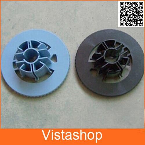 2 Pcs (blue+black) Spindle Hub For HP DesignJet 500 800 C7769-40169 C7769-40153