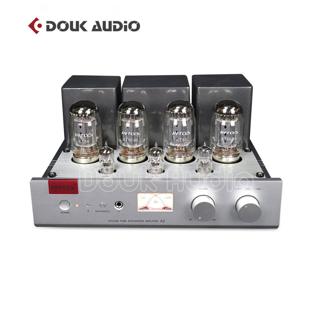 2018 Lastest Nobsound Hi-end Stereo Integrated KT88 Push-Pull Vacuum Tube Amplifier Stereo HiFi Headphone Amp 35W*2 2018 latest nobsound hi end 6n8p push pull psvane kt88 valve tube amplifier hifi stereo class a large power 45w 2 amplifier