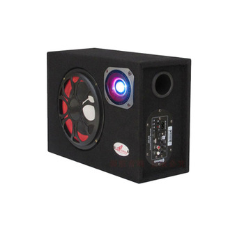 5Inch Square Car Bluetooth Speaker Subwoofer With Radio Function 12V 24V 220V Home / Auto / Motorcycle Super Bass Speakers subwoofer