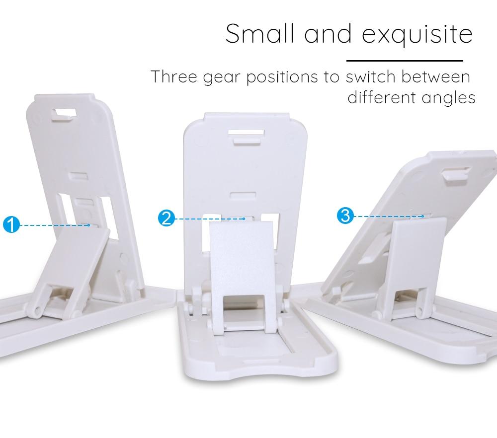 NYFundas Mini Foldable Phone Holder Folding For iphone 8 8Plus 7 6 6 S Plus X 5S Samsung Gaxary S9Plus S8 S 9 Desktop Accessory (1)