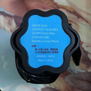 Image 5 - DIY Powerbank Box 6x 18650 Battery Storage Case Holder 5V 12V For Bicycle LED Light USB Charger for Smartphone