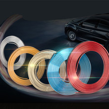 5M car modified styling strip colorful line plate instrument table decoration