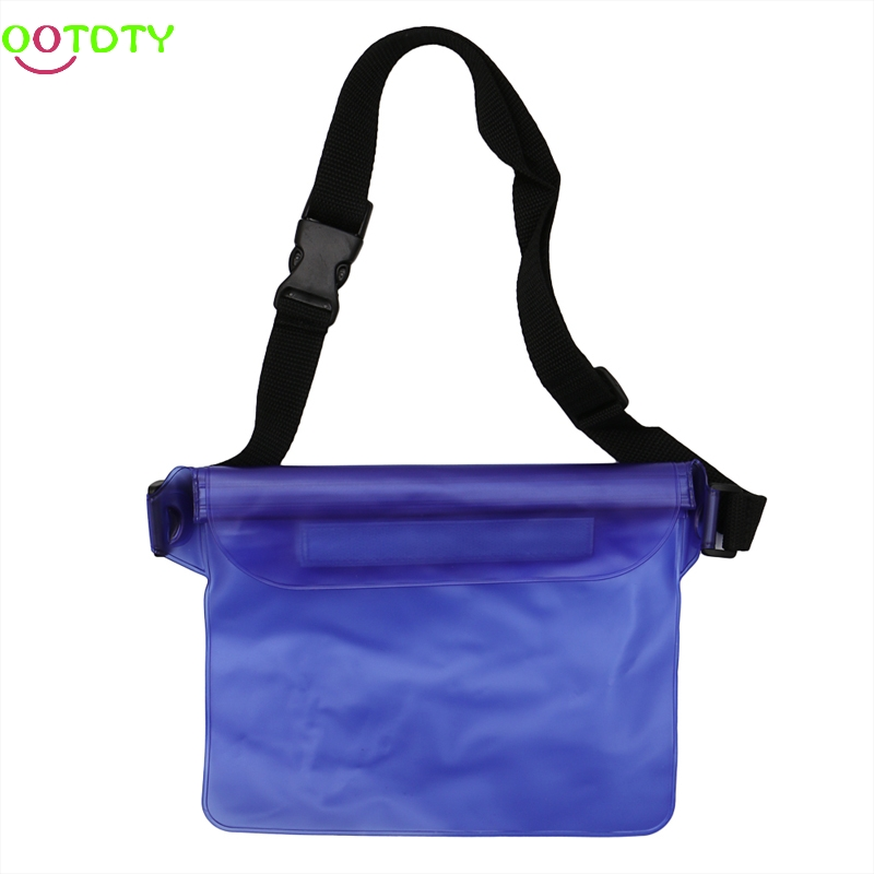 Waterproof Cover Bag With Strap Sustainable Water Dry Beach Swimming Pool Pouch Swimming Accessories