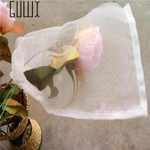 10 Pcs 15*25cm Garden Insect Barrier Net Protect Bags Plant Seed Carrier Bag, Mosquito Bug Insect Barrier Bird Net