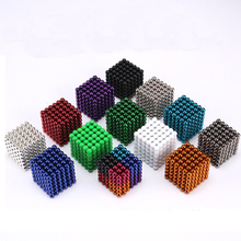 MagneticBall 5mm 216pcs Buliding Educational Neo Cube Magic Blocks Anxiety Stress Toys Gift Christmas Magico Cubo With Metal Box