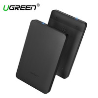 Ugreen HDD Enclosure 2 5 Inch SATA To USB 3 0 SSD Adapter Hard Disk Drive