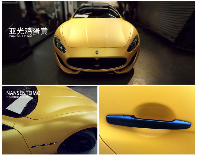 2015 new wholesale price yellow matte finish vehicle wrap vinyl car sticker size1 52m30m free shipping by express car styling on aliexpress com alibaba