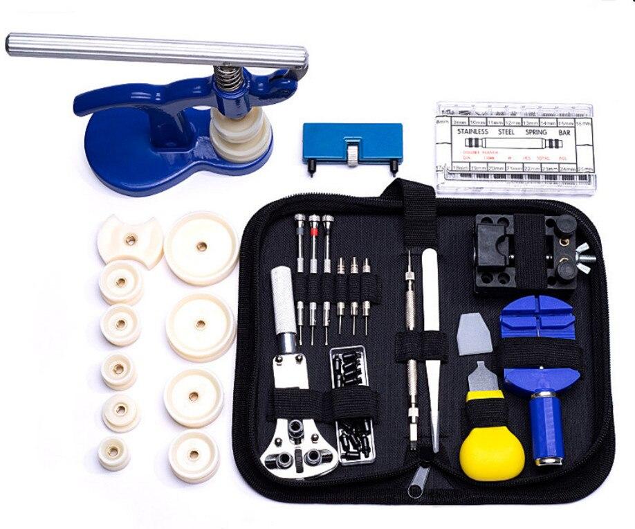 SANYU Watch Tools Professional Repair Tool Kit Watchmaker Tools Watch Back Case Opener Precision Screwdriver Horloge