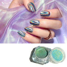 Holographic Laser Powder Rainbow Nail Art Chameleon Glitter Chrome Powder Pigment Manicure Nail Gel Polish Glitter Dust I032 10g holographic nail powder laser nail glitter dust diy manicure for gel polish chrome pigment powder nail art decoration set