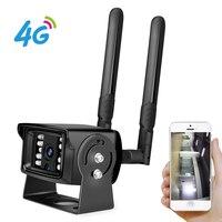 BESDER 1080P 4G SIM Card WIFI IP Camera With SD Card Slot ONVIF Metal Case Outdoor Security Cameras Mini Wi-Fi 4G For Car / Home Surveillance Cameras