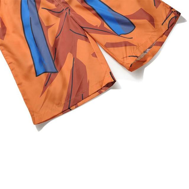 Anime Dragon Ball Kakarotto Cosplay Board Shorts Summer 3D Printing Man Beach Shorts Leisure Trunks Swimwear