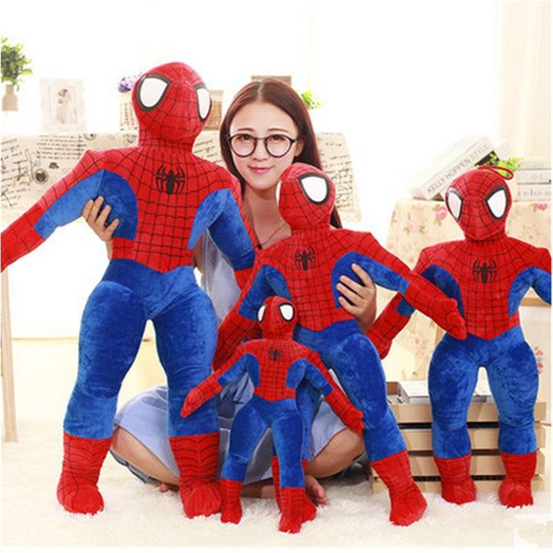 ФОТО Fancytrader Biggest Stuffed Superhero Spiderman Plush Toy Giant Pop Anime Spider Man Doll 85cm Nice Xmas Birthday Gifts