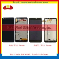 10pcs Lot DHL For Nokia Microsoft Lumia 640 And 640XL 640 XL Full Lcd Display Touch