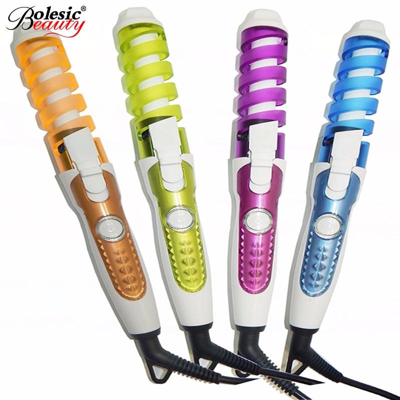 Ηλεκτρικό Magic Hair Styling Εργαλείο Rizador De Pelo Roller Curler μαλλιών Pro Σπειροειδής Curling Σίδερο Wand Curl Styler