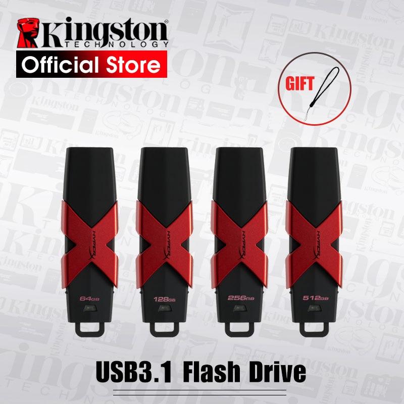Kingston HyperX Savage 350 mb/s Vitesse de Lecture Haute Stylo lecteurs USB 3.1 Flash Drive 512 gb Flash Disque mémoire malade 64 gb 128 gb 256 gb