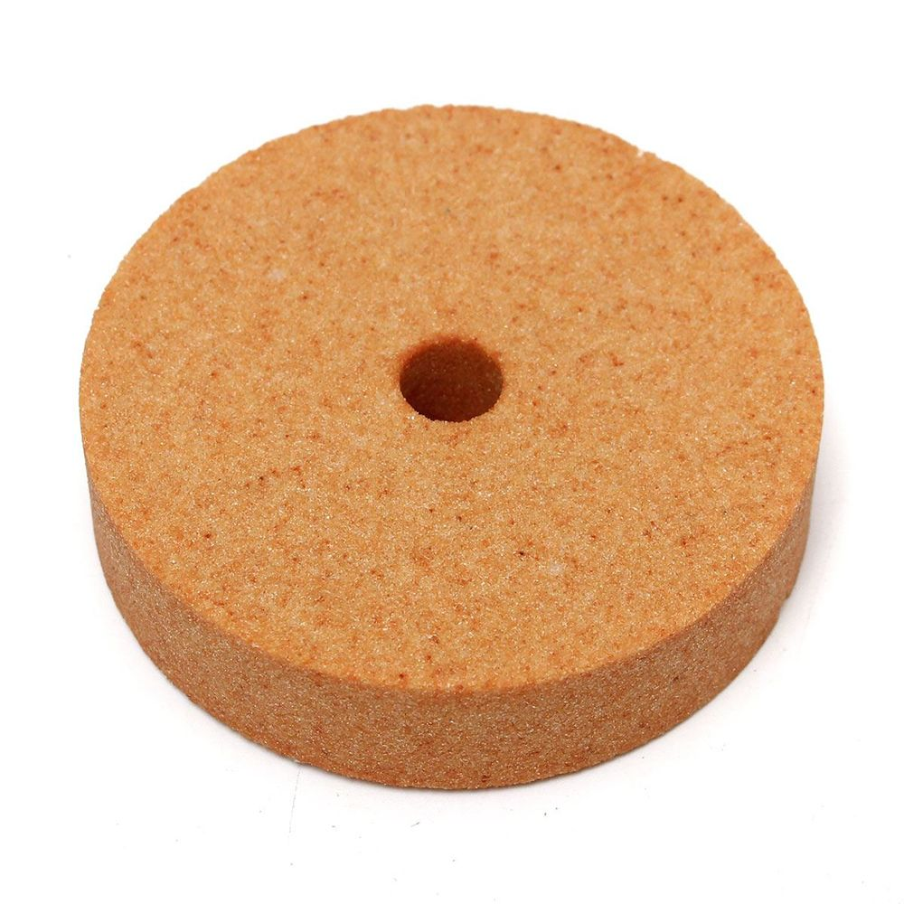 Image 3 - Top Selling 75*10*20mm 3 Inch Polishing Grinding Stone Wheel For Bench Grinders Metal Working High Quality-in Abrasive Tools from Tools
