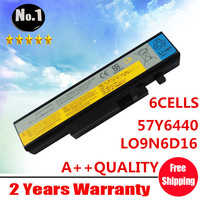 Wholesale New 6cells Laptop Battery FOR LENOVO IdeaPad Y460 Y560 SERIES 57Y6440 121000917 121000918 LO9N6D16 Free