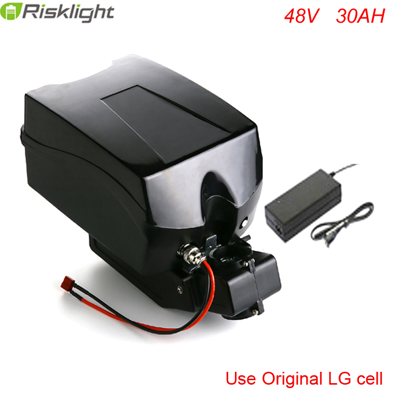 48v 30ah lithium ion ebike battery Frog  case bicycle electric bike - Cycling - Photo 1