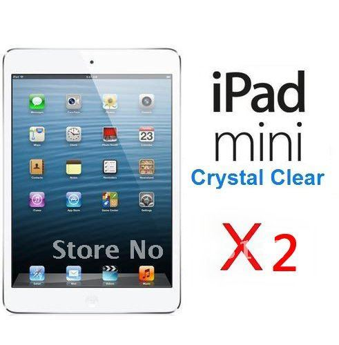 ultra crystal clear screen protector For ipad mini retail package ,,2pcs/lot,free shipping--302904