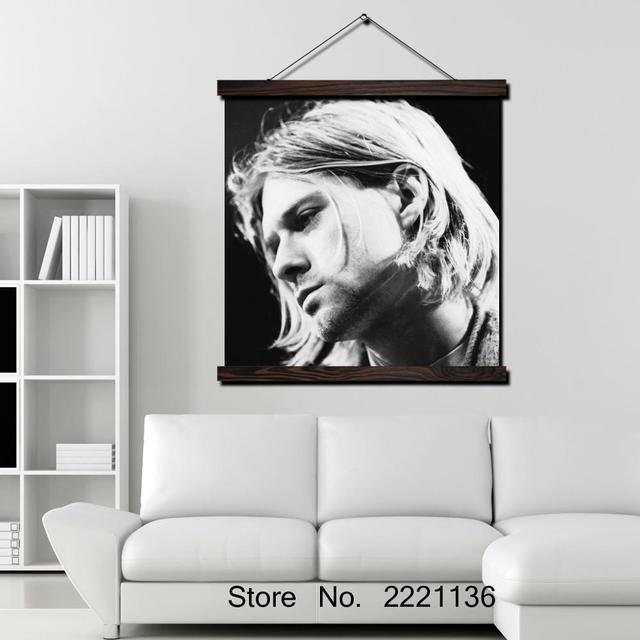 kurt cobain pevec rok legenda HD Print Scroll Paintings Wall Art ...