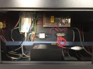 Image 3 - Máquina de grabado láser Co2 4040 de 50W para cortar madera contrachapada, madera, MDF, acrílico, cristal, vidrio, papel, plástico, plexiglás