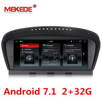 free shipping HD android 7.1 Car Multimedia player DVD Player 8.8 Inch For BMW 3 Series 5 Series E60 CCC/CIC 32GB Rom GPS 4Cores