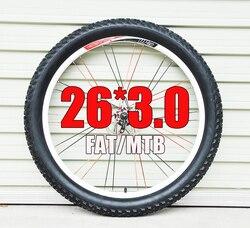 Gumowe tłuszczu ośiwetlenie opony waga 26 3.0 2.1 2.2 2.4 2.5 2.3 tłuszczu MTB 26 góry opona rowerowa w Opony rowerowe od Sport i rozrywka na
