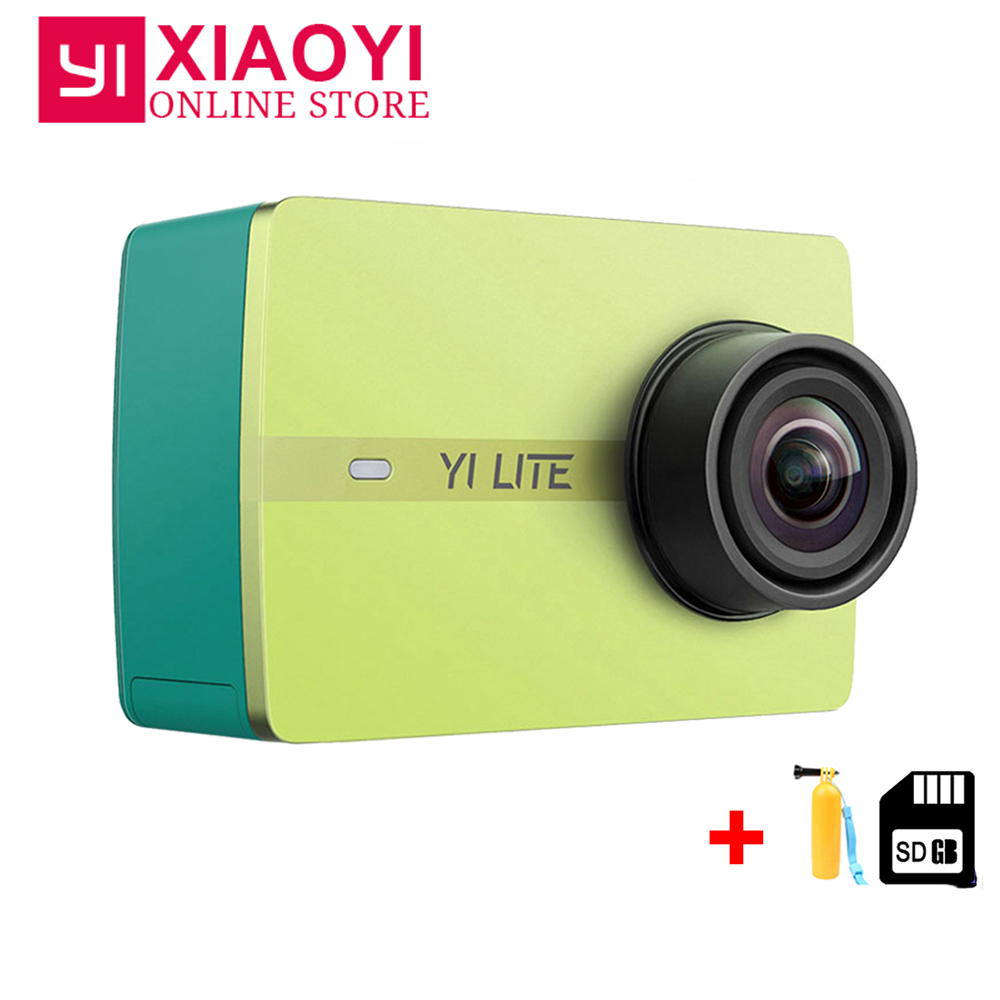 EntrüCkung Xiaomi Yi Lite Action Kamera 16mp Echt 4 K Sport Kamera Mit Eingebautem Wifi 2 Zoll Lcd-bildschirm 150 Grad Weitwinkel Objektiv Unterhaltungselektronik