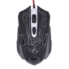 USB Wired Optical Computer Gaming Mouse 6 Buttons E-Sports Gaming Mouse Professional Mouse Gamer High Quality Raton Ordenador