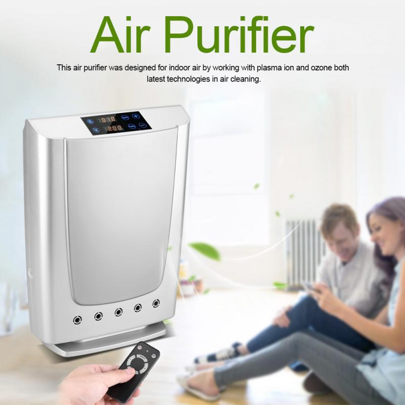Ozone Plasma Air Purifier Sterilizer for Home/Office Purification & Water Sterilization fruit vegetables tableware disinfection plasma and ozone air purifier for home office air purification and water sterilization gl 3190