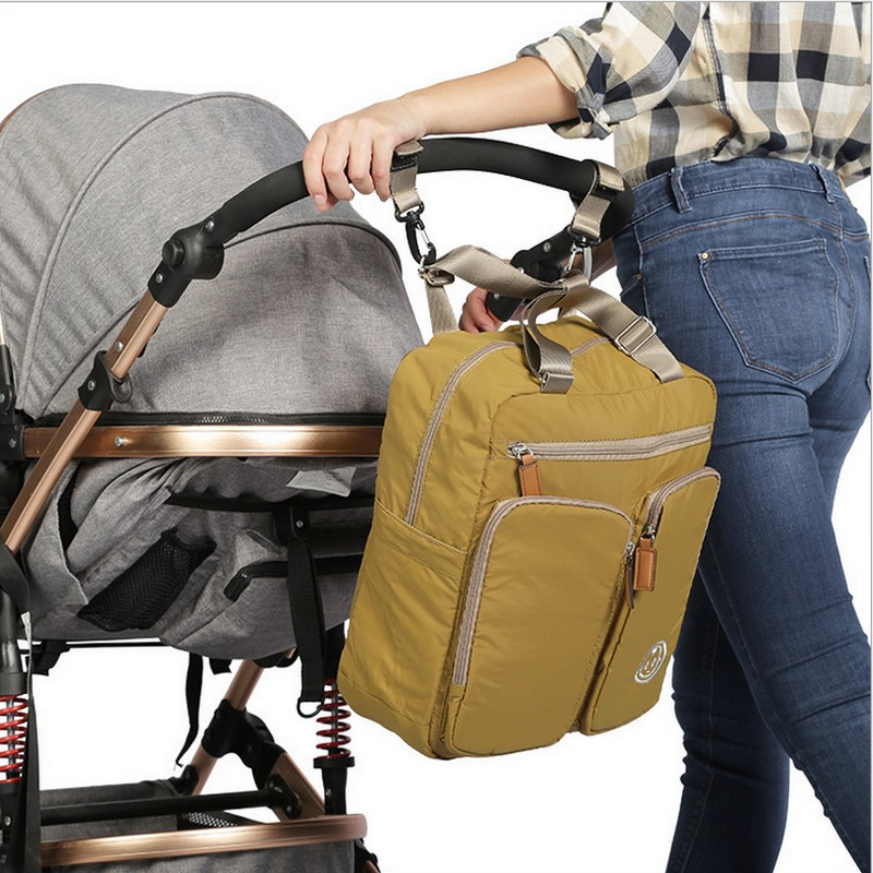ФОТО new Mummy Diaper Bag fashion Baby Bag Mum Maternity Nappy Bags Baby Travel Bag Backpack Waterproof Free shipping