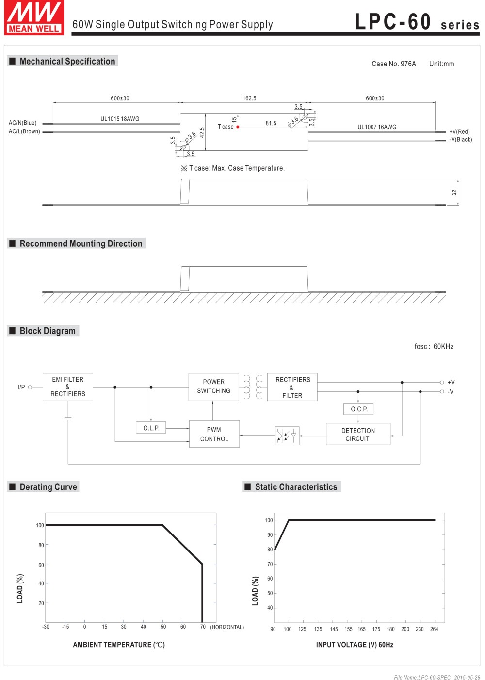 HTB1qKnuXwvGK1Jjy0Fbq6z4vVXav - Meanwell LPC-60-1050 constant current led power supply 9-48VDC output 50.4W 1050mA waterproof driver for Led strip lighting